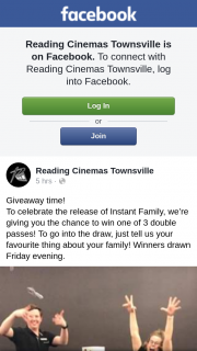 Reading Cinemas Townsville – Win One of 3 Double Passes
