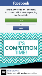 RMB Lawyers – Win a $50 Coles/myers Voucher