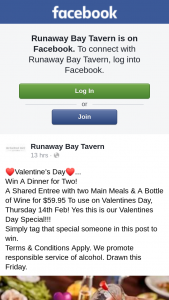 Runaway Bay Tavern – Win a Dinner for Two