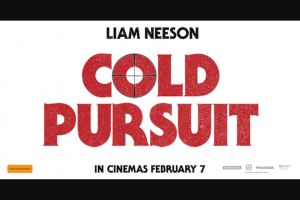 Screen Realm – Win One of 10 Double Passes to Attend this Sydney Screening of Cold Pursuit…