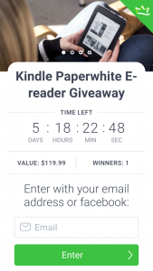 Simply Charly – Win an All-New Kindle Paperwhite E-Reader (prize valued at $120)