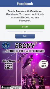 South Aussie With Cosi – Tickets to Cirque Africa's Brand New Show 'ebony' at The Adelaide Fringe?