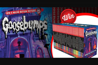 Stack Magazine – Win 1/2 Epic Goosebumps Book Collections