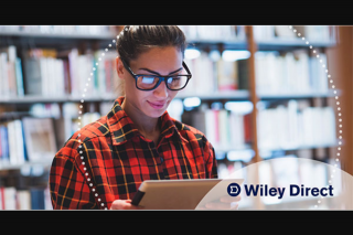 Student Edge – Win a $500 Wiley Direct TexTBook Voucher (prize valued at $500)