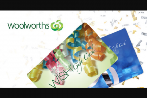 Student Edge – Win 1 of 5 $100 Woolworths Wish Egift Cards (prize valued at $500)