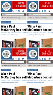 Super Deluxe Edition – Win a Paul Mccartney Box Set