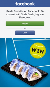Sushi Sushi – Win One of 5 Double Passes to The Ao