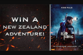 Channel Ten – Win a Medieval Adventure to New Zealand (prize valued at $8,500)