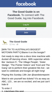 The Good Guide – Win Yourself Two Tickets