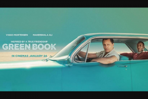 The West WA – Win 1 of 50 Double Passes to See Green Book (prize valued at $2,000)