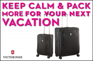Vacations Travel – Win a Victorinox Luggage Set (prize valued at $1,748)