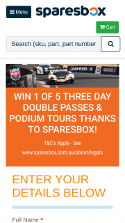 "Win The ""the Bathurst 12 Hour Experience Giveaway"" (""the Prize"")"
