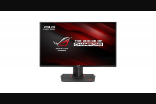 Woorise – Win an Asus Rog Swift Pg279q Gaming Monitor