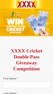 XXXX Gold – Win Your Way to The Australia Day Test