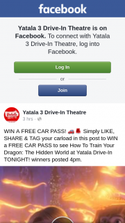 Yatala 3 Drive-in theatre – Win a Free Car Pass
