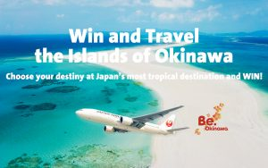 G'Day Japan – Win and travel the Islands of Okinawa for 2 valued at up to $4,000