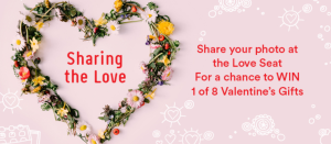Macarthur Square – Win 1 of 8 Valentine's Day gifts