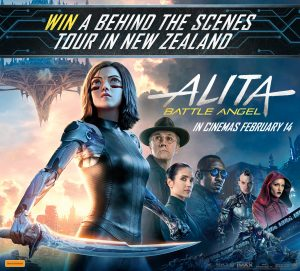 Network 10 – Fox-Alita: Battle Angle – Win a prize package of a trip for 2 to Wellington, New Zealand valued at $5,140