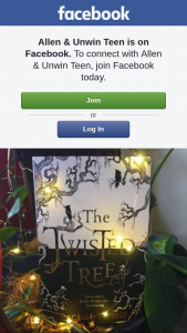 Allen & Unwin teen – Win a Copy of The Twisted Tree