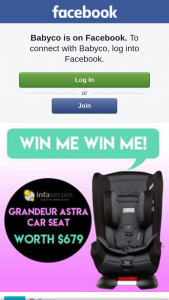 BabyCo – Win this Awesome Infasecure Grandeur Astra Carseat Worth $679 (prize valued at $679)
