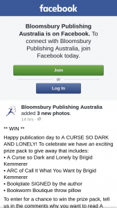 Bloomsbury Publishing – Win The Prize Pack