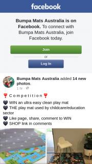 Bumpa Mats Australia – Win an Ultra Easy Clean Play Mat