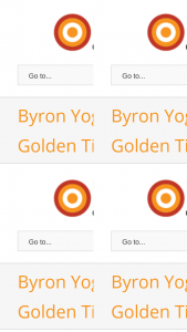 Byron Yoga – Win a Golden Ticket Giving You a Place on The Whole Collection of Byron Yoga Centre's Residential Trainings and Retreats for One Year (prize valued at $17,000)