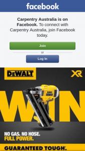 Carpentry Australia – Win The New Gen3 Dcn692 Framing Nailer (prize valued at $845)
