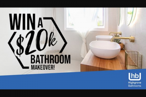 Network Ten – Changing Rooms – Ten Play – Changing Rooms – Win a Bathroom Makeover valued at $20,000