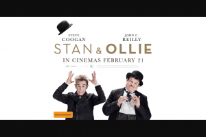 Community News – Win One of 150 Double Passes to a Special Preview Screening of Stan & Ollie