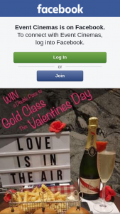 Event Cinemas Australia Fair – Win a Double Pass to Gold Class this Valentines Day Simply Like