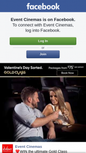 Event Cinemas Indooroopilly – Win The Ultimate Gold Class Valentine's Date Night