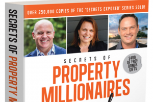 Female – Win One of 5 X Secrets of Property Millionaires Exposed Books (prize valued at $150)