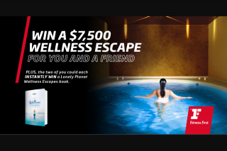 Golden Door Wellness Holiday & 50 Instant – Win a 5-night Optimal Wellness Program for You and a Friend at (prize valued at $29.99)