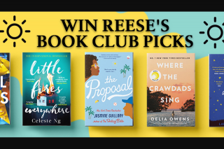 Hachette – Win 1 of 2 Reese's Book Club Packs