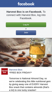 Harvest Box – Win a Box of Assorted Almond-Containing Packs