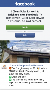 I clean solar Ipswich & Brisbane – Win a $100 Fuel Card (prize valued at $100)