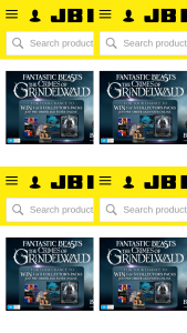JB HiFi Preorder Fantastic Beasts for a chance to – Win 1 of 5 Fantastic Beasts Collector's Packs