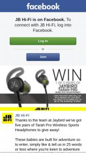 JB HiFi – Win a Family