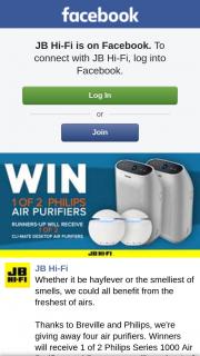 JBHiFi – Four Air Purifiers