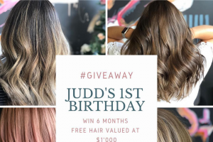 Judd Hair – 6 Months of Free Hair (prize valued at $1,000)