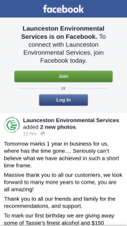 Launceston Environmental Services – Some of Tassie's Finest Alcohol and $150 Voucher to Cataract on Paterson
