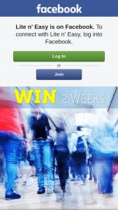 Lite N' Easy – Win 2 Weeks Free Lite N' Easy
