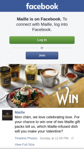 Maille – Win One of Two Maille Gift Packs Tell Us