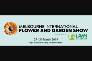 Melbourne International Flower & Garden Show – Win $500 to Spend at The Show Purchase Tickets (prize valued at $500)