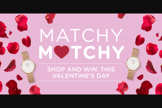 Moonee Ponds Central – Win a Matching Pair of Daniel Wellington Rose Gold Watches this Valentine's Day (prize valued at $478)