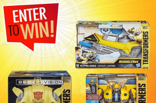 Mr Toys Toyworld – Win a Transformers Bumblebee Prize Pack Thanks to Our Friends at Hasbro Toys Valued at $239 (prize valued at $239)