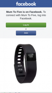 Mum to Five – Win a Fitness Kids Activity Monitor