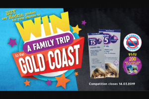 Mum's Grapvine – Win a Trip for 4 to Gold Coast (prize valued at $8,000)