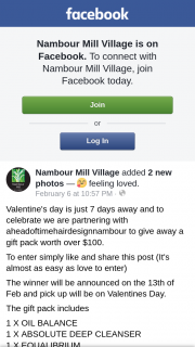 Nambour Mill Village – a Gift Pack Worth Over $100.